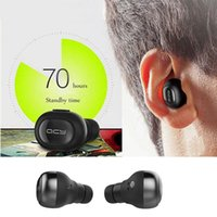 QCY True Bluetooth Headset sem fio Stereo Twins Earbuds Para Samsung iPhone HTC