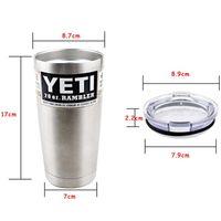 YETI 20 oz Cup Cooler YETI Rambler Tumbler For Travel Campin...