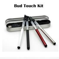 Bud kit tactile O Pen Kit CE3 Blister 280mAh Vaporisateur E cigarettes 510 Vaporisateur E Kits de cigarettes avec chargeur USB Boîte en aluminium