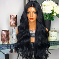 8A Straight Unprocessed Human Hair Lace Front Wigs Brazilian...