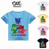 Boys t shirt cartoon tops 2017summer children clothing kids ...
