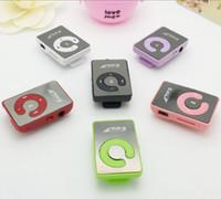 Hot Sell Christmas Gift Mini Mirror Clip Sport MP3 Music Pla...