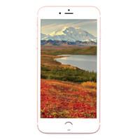 Matt Black 3G WCDMA Goophone i7 1: 1 клон 4,7 дюйма IPS 960 * 540 QHD Quad Core MTK6580 1GB 4GB + 32GB Android 6.0 5MP камера Nano-Sim смартфон