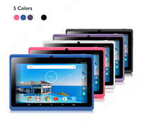 ÉTATS-UNIS! IRULU 7 pouces Tablet PC RK3126 Quadcore 1080 * 800 IPS écran 1G / 16G doubles caméras Android4.4 1.5GHZ Bluetooth Tablettes