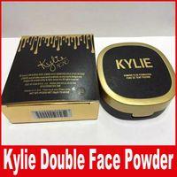 Новый KYLIE Double Powder Plus Foundation FOND DE TEINT POUDRE макияж лицо нажата порошок 30 г DHL Бесплатно