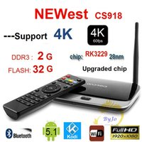 NEWest 4K Upgraded CS918 ( RK3229) KODI 16. 1 2G DDR3 8G 16G ...