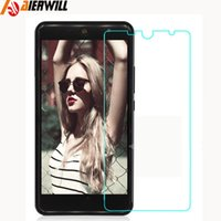 Wholesale- For Wileyfox Swift 2 Plus Tempered Glass 0. 3mm 9H...