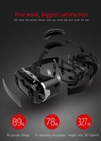 SHINECOM 2 génération de vr cas de luxe casque réalité virtuelle jeu lunettes 3D VR BOX Upgraded Version Virtual Reality Video Glasses