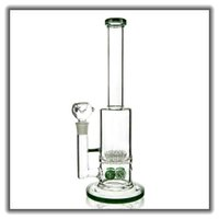 New Arrival Clear Straight Glass Bong Bubbler Water Pipes Wi...