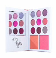 Kylie Cosmetics Jenner diary ombre à paupières Kit Eyeshadow Palette kylie valentines collection kyshadow duos 11 couleurs pour le cadeau de la Saint-Valentin!