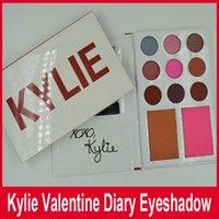 Кайли Дженнер Косметика дневник тени для глаз Kit палитра теней Kylie валентинки коллекция kyshadow дуэты 11Colors на день Святого Валентина