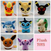 Kids Poke Mon Plush Toys Suicune Charizard Wobbuffet Lugia P...