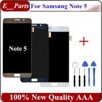 1Pcs Original Pour Samsung Galaxy Note 5 LCD G9200 N920F N920T LCD écran tactile Digitizer remplacement de l'Assemblée Livraison gratuite avec des outils ouverts
