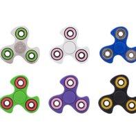Whirlwind Spinner à main Fingertips Spirale Fingers Gyro Torqbar Fidget Spinner Plastique Fidgets Jouets Jouets de décompression 6 Couleurs KKA1498