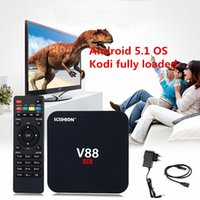 Video Stream Media Player Rockchip Android OTT TV Box V88 RK...