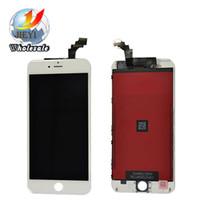 Qualité AAA pour iPhone 6 Plus LCD 5,5 pouces Plein écran LCD complet Affichage avant Numériseur écran de verre Assemblée DHL