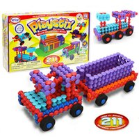 Popular Playthings Playstix Deluxe Set Toy Bricks Assemblage...