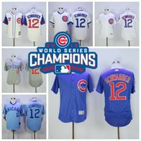 2016 World Series Champions Patch Chicago Cubs 12 Kyle Schwa...
