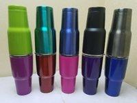 Coloré Tumbler Rambler Coupes Coolers Coupe 30 oz Sports Mugs Tasse de voyage en acier inoxydable de grande capacité Livraison gratuite