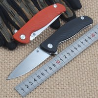 shirogorov F95 folding knife D2 Steel Blade G10 Handle Outdo...
