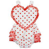Baby Girls Ruffle Lace Rompers 2017 Newborn Birthday Cotton ...