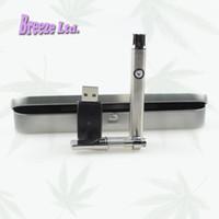 Cartouche en verre de la bobine de céramique Kit de la batterie de préchauffage e cartouches de cigarette stylos de l'huile de cire ce3 cartouches de stylo de vaporisateur pour CBD huile épaisse DHL