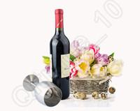 Из нержавеющей стали красного вина Кубок 300ML Кубок колба Вино Пот Аксессуар одной чашки Фужеры Бар Ресторан LJJO1008