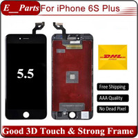 Pour iPhone 6s Plus LCD (5,5 pouces) Grade AAA LCD Display Touch Digitizer avec colle froide forte