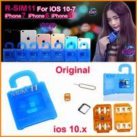RSIM11 анлок для IOS10 ios9 ios7-10.x RSIM 11 R-sim11 разблокировки карты для IPhone 7 6plus 6s 5 WCDMA GSM CDMA СПРИНТ 3G 4G RSIM 11