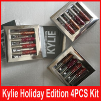kylie christmas kit 4pcs set New Kylie Jenner holiday editio...