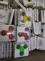 Stocks Hand Spinner Triangle Tri Fidget Ceramic Ball Desk Fo...