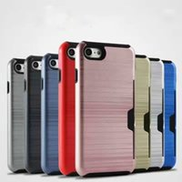 Cases 8 Colors PC and TPU Combo Waterproof Dirt- resistant Fi...
