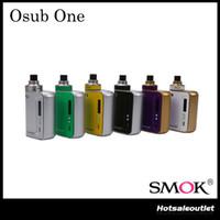 Kit de démarrage authentique Smok Osub One TC avec alimentation 50W et batterie intégrée de 2200mAh Un appareil tout-en-un réel 100% original