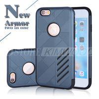 Caseology Case Cell Phone Housse rigide résistant aux chocs Hybride TPU + PC Armor Cases pour iPhone 5 6 6S 7 Plus Samsung S7 S6 Edge