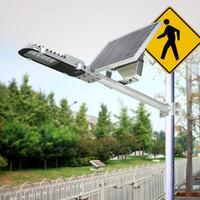 Высокое качество водонепроницаемая IP65 12W светодиодный солнечный свет уличный фонарь 12LED Солнечная уличное освещение для сада Backyard Park Road наружного освещения