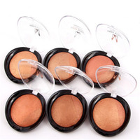 Nouvelle Miss Rose Beauty Face Blush en poudre Maquillage Baked Cheek Color Bronzer Blusher Palette colorete Sleek Cosmetic Shadow
