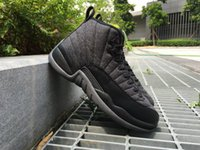 Double box high quality Wool retro 12 basketball shoes, cheap...