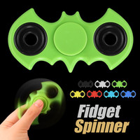 Fidget Spinner Batman Spinner Fidget Fingertips Decompression Bat Design de modèle EDC Toy Perfect for Adult Stress Relieverf With Retail Box