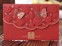 Invitaciones de boda boda invitaciones Invitaciones de boda de estilo europeo bronzing multicolores LLFA