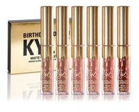 Makeup Gold Kylie Jenner Birthday Edition Lipstick Kit Matte...