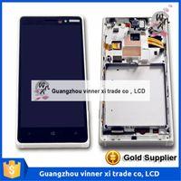 100% testé nouvel écran LCD pour Nokia Lumia 830 Rm-984 avec Touch Diaplay Digitizer Assemblée complète noir Livraison gratuite