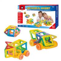 32 PCS Set Magnetic Building Blocks Kids Magnet Construction...