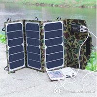 19.5W Складная Портативная панель солнечных батарей зарядное устройство двойной выход Дикий Солнечное зарядное устройство для батареи 18650