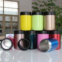 12OZ tasses colorées 304 en acier inoxydable 10 couleurs 1: 1 12oz Tumbler voiture tasses voyage sport tasses DHL Livraison gratuite