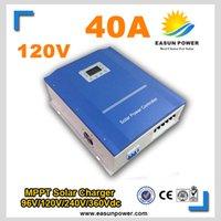 40A MPPT солнечный контроллер 120v солнечный регулятор заряда солнечный регулятор 4800w powerSystem