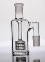 Dans STOCK ashcatcher avec stator stéréo perc cendrier en verre avec joints de 18 mm pour bong verre pipe d'eau