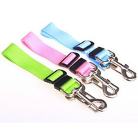 Collars & Leahes Type Free Shipping Pet Car Seat Belt For Do...