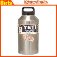 Hot Sale YETI Rambler Bottle 64oz Warmer Rambler Bottle Doub...