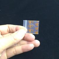 Herb 100 Pcs / Lot 2.5 * 3 CM Mini Portable Ziplock Patterned sac 1010 Eco-Friendly Jewerly sacs de rangement pratique de la maison Utilisation