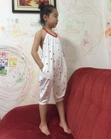 Girls Kids Summer Dot Backless Onesies Rompers Jumpsuits Ove...